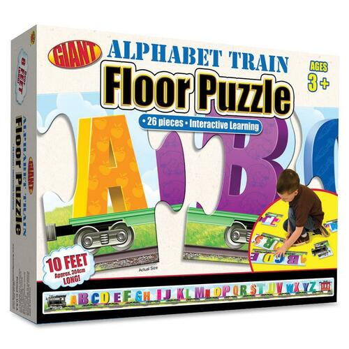 Carson-Dellosa Alphabet Train Floor Puzzle
