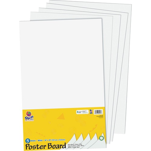 Pacon UCreate 14x22 Color Poster Board Pack | by Plexsupply