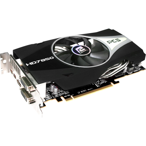 PowerColor Radeon HD 7850 Graphic Card - 860 MHz Core - 1 GB GDDR5 SDRAM - PCI-Express 3.0 x16