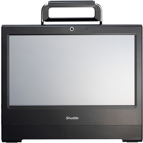 Shuttle X50V3L All-in-One Computer - Intel Atom D2550 1.86 GHz - Desktop - Black