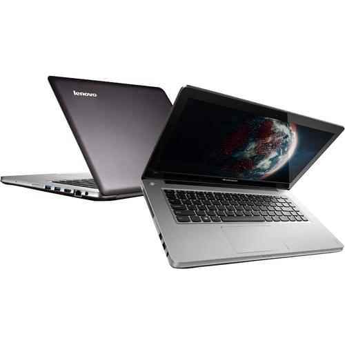 """Lenovo IdeaPad U410 14"""" Ultrabook - Intel Core i7 i7-3537U Dual-core (2 Core) 2 GHz - Graphite Gray"""