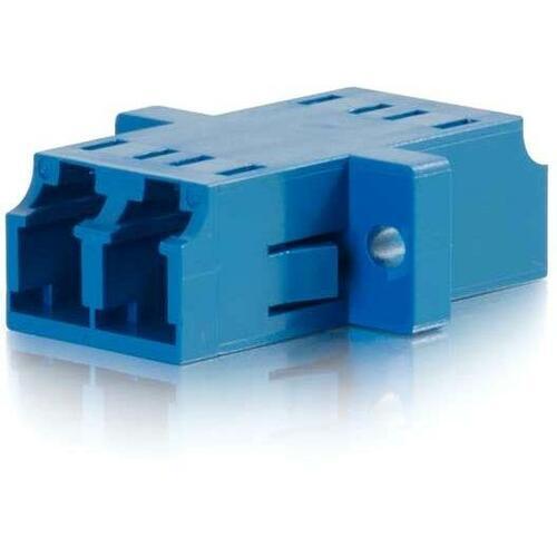 C2G LC-LC DX FIBER SM COUPLER PLASTIC