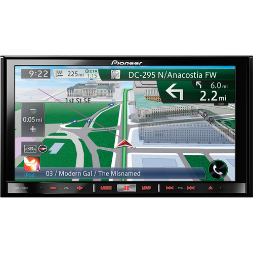 Pioneer AVIC-Z150BH Automobile Audio/Video GPS Navigation System