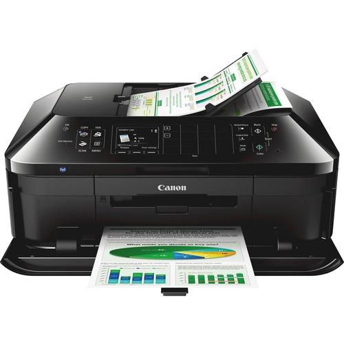 Canon PIXMA MX922 Inkjet Multifunction Printer - Color - Photo/Disc Print - Desktop
