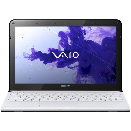 "Sony VAIO SVE11135CXW 11.6"" LED Notebook - AMD E-Series E2-2000 1.75 GHz - Seafoam White"