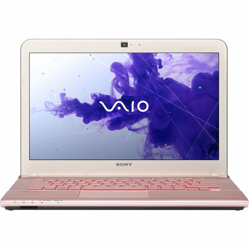 "Sony VAIO SVE14132CXP 14"" LED Notebook - Intel Core i3 i3-3120M 2.50 GHz - Seashell Pink"