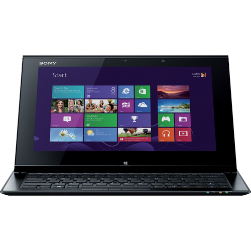 "Sony VAIO SVD11225PXB 11.6"" Ultrabook/Tablet - Wi-Fi - Intel Core i7 i7-3537U 2 GHz - LED Backlight - Gun Metallic"