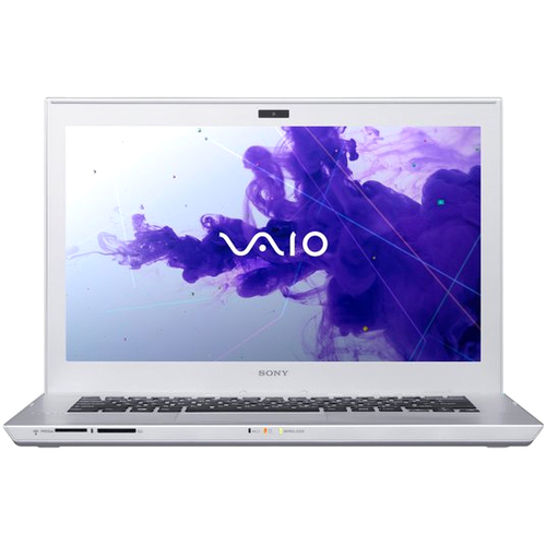 "Sony VAIO SVT14122PXS 14"" LED Ultrabook - Intel Core i3 i3-3227U 1.90 GHz - Silver Mist"
