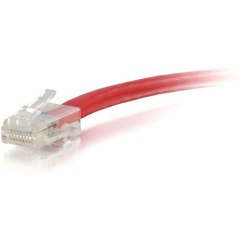 C2G 15FT CAT6 RED NON BOOTED PATCH CABLE
