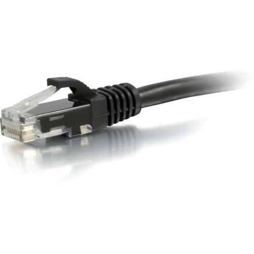 C2G 30FT CAT5E BLACK SNAGLESS PATCH CABLE