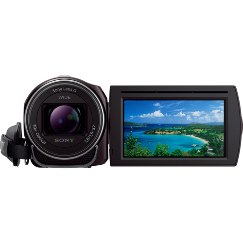 "Sony Handycam HDR-CX430 Digital Camcorder - 3"" - Touchscreen LCD - Exmor R CMOS - Full HD"