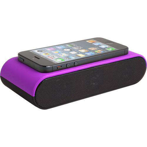 Zagg BoostPlus Speaker System - Wireless Speaker(s) - Purple