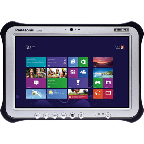 "Panasonic Toughpad FZ-G1AABLCRM 10.1"" LED Intel Core i5 i5-3437U 1.90 GHz 4GB RAM 128GB SSD Genuine Windows 8 Rugged Tablet PC"