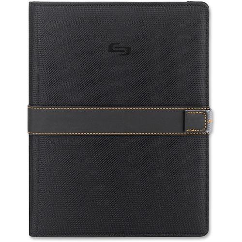 """Solo UBN221 Carrying Case for 11"""" Tablet, Digital Text Reader - Black, Orange"""