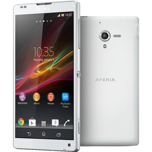 Sony Xperia ZL C6506 Smartphone - 16 GB Built-in Memory - Wireless LAN - 4G - Bar - White