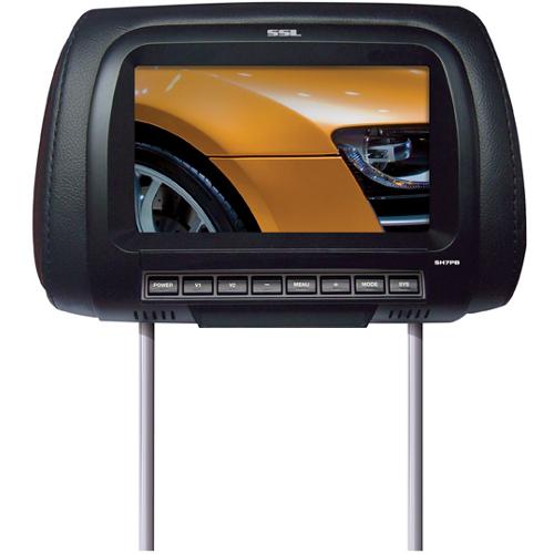 """Soundstorm SH7PB 7"""" Active Matrix TFT LCD Car Display - Black"""