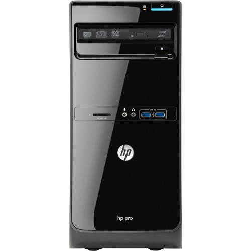HP Business Desktop Pro 3500 Desktop Computer - Intel Pentium G645 2.90 GHz - Micro Tower