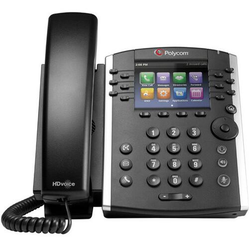 Polycom VVX 410 IP Phone | Cable | Desktop