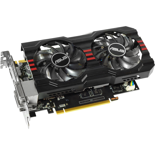Asus GTX660 TI-DC2OC-3GD5 GeForce GTX 660 Ti Graphic Card - 1006 MHz Core - 3 GB GDDR5 SDRAM - PCI Express 3.0
