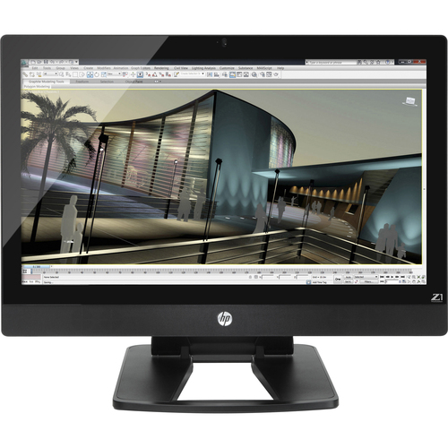 HP Z1 All-in-One Workstation - 1 x Processors Supported - 1 x Intel Core i5 i5-3470 Quad-core (4 Core) 3.20 GHz