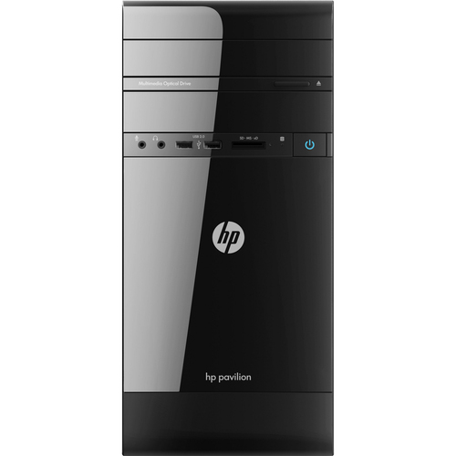 HP p2-1300 p2-1310 Desktop Computer - Refurbished - AMD E-Series E2-1800 1.70 GHz - Micro Tower