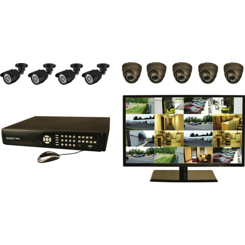 Security Labs Dual Stream Pentaplex Internet-3G DVR and Camera System SLM461