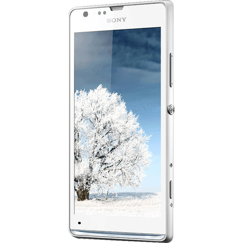 Sony Xperia SP C5302 Smartphone - 8 GB Built-in Memory - Wireless LAN - 3.9G - Bar - White