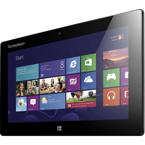"Lenovo IdeaTab Miix Net-tablet PC 10.1"" Intel Atom 2GB RAM 64GB HDD Windows 8 Silver Tablet"