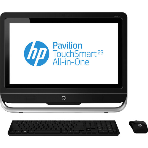 HP Pavilion TouchSmart 23-f200 23-f250 All-in-One Computer - AMD A-Series A4-5300 3.40 GHz - Desktop