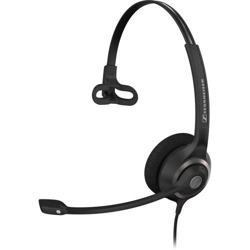 SENNHEISER BUSINESS HEADSETS 504407 MONAURAL HEADSET W/ MIC NOISE CANCELLING FOR LYNC