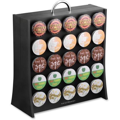 Mind Reader 50 Pod Wall Coffee Dispenser