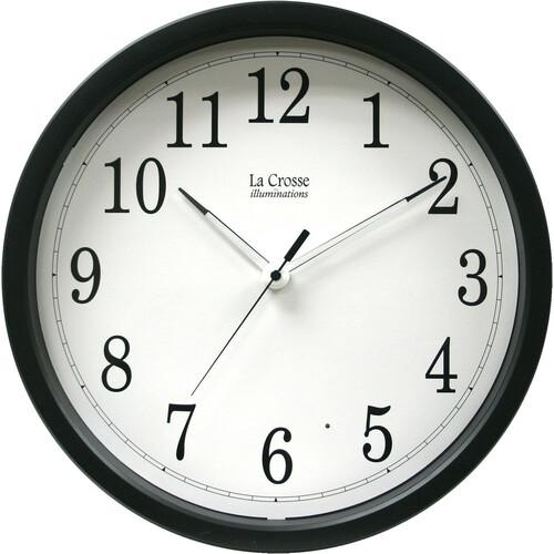 La Crosse Technology 403-314 Clock /w Black Frame