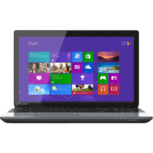 "Toshiba Satellite S55t-A5258NR 15.6"" LED Notebook - Intel Core i7 i7-4700MQ 2.40 GHz - Ice Silver in Brushed Aluminum"