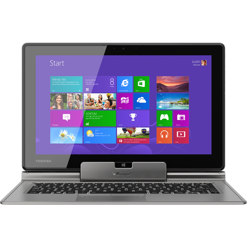 "Toshiba Portege Z15t-A1210 11.6"" LED Intel Core i5 i5-3339Y 1.50 GHz 4GB RAM 128GB SSD 64-bit Win8 Ultimate Silver Tablet PC"