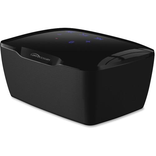Compucessory 2.0 Speaker System - 2 W RMS - Wireless Speaker(s) - Black
