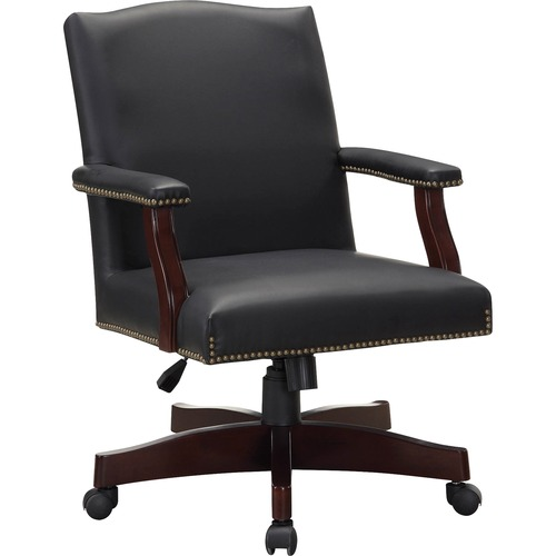 Lorell Traditional Executive Bonded Leather Chair | by Plexsupply