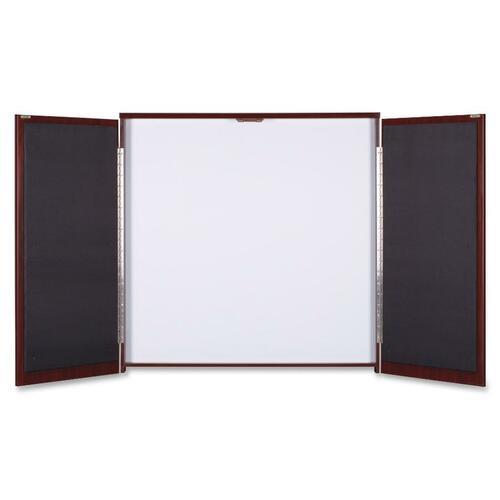 Lorell Dry-erase Whiteboard Presentation Cabinet | by Plexsupply