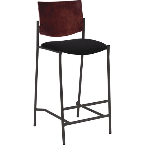 Lorell Bistro Style Wood Back Barstool | by Plexsupply