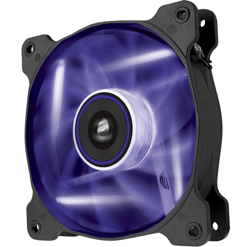 Corsair Air Series AF120 LED Purple Quiet Edition 120 mm x 25 mm, 3 pin, Twin Pack (CO-9050016-PLED)