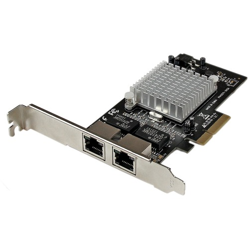 STARTECH GBE PCIE X4 2PORT NETWORK CARD INTEL CHIPSET