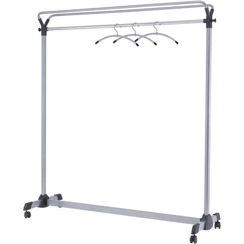 Alba Upper Shelf Mobile Coat Rail