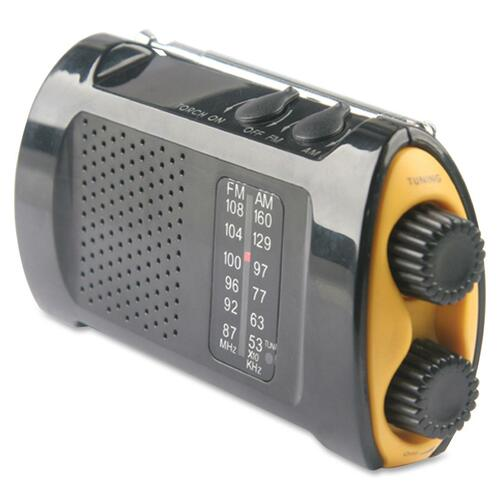 Acme United Emergency Crank AM/FM Radio