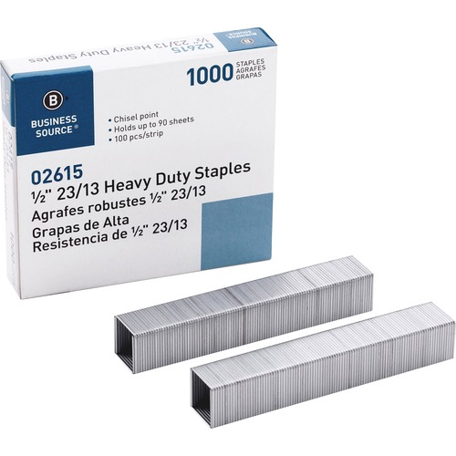 Business Source Heavy-duty Staples