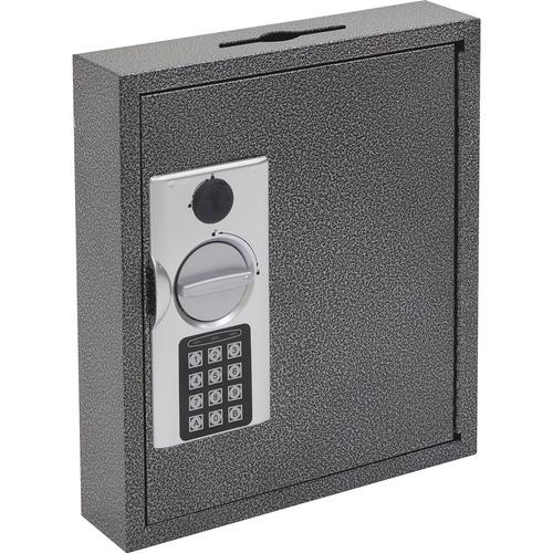 Hercules key cabinets e-lock, 30-key, steel, silver vein, sold as 1 each