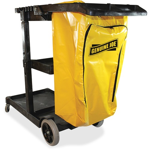 Genuine Joe Industry Workhorse Janitor's Cart | by Plexsupply