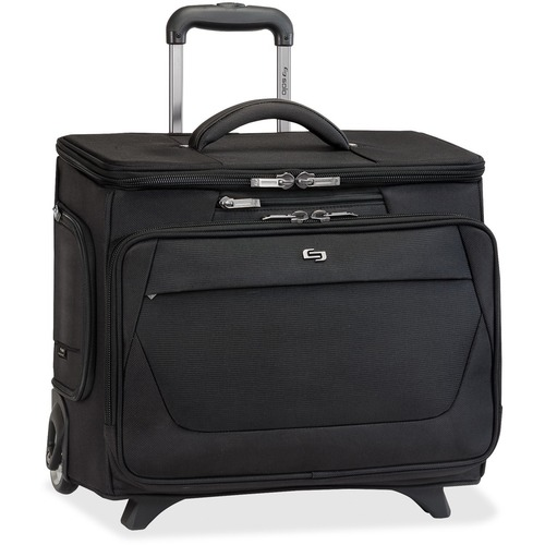 """Solo Carrying Case (Roller) for 15.6"""" Notebook - Black"""