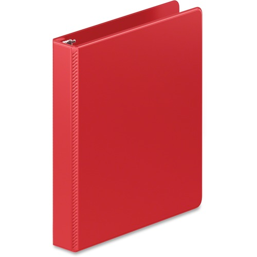 "D-ring binder, hd, 1"", red, sold as 1 each"