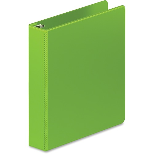 """D-ring binder, hd, 1-1/2"""", lime green, sold as 1 each"""