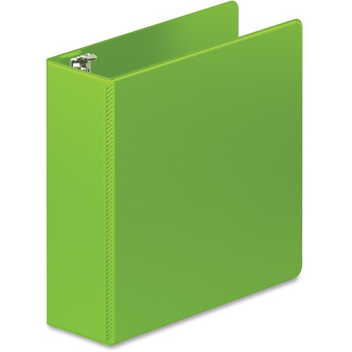 "D-ring binder, hd, 3"", lime green, sold as 1 each"
