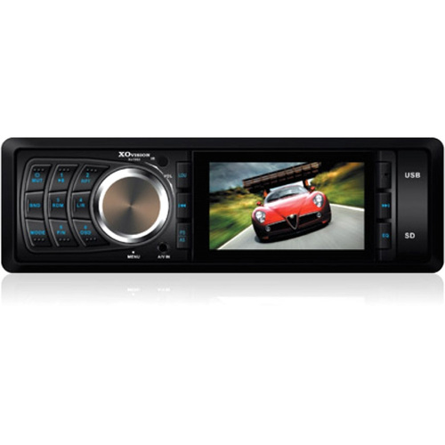 "XO Vision XO1962 Car DVD Player - 3"" LCD - 16:9 - Single DIN"
